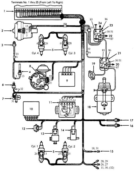 Diagram Mazda Vacuum 89 B2200