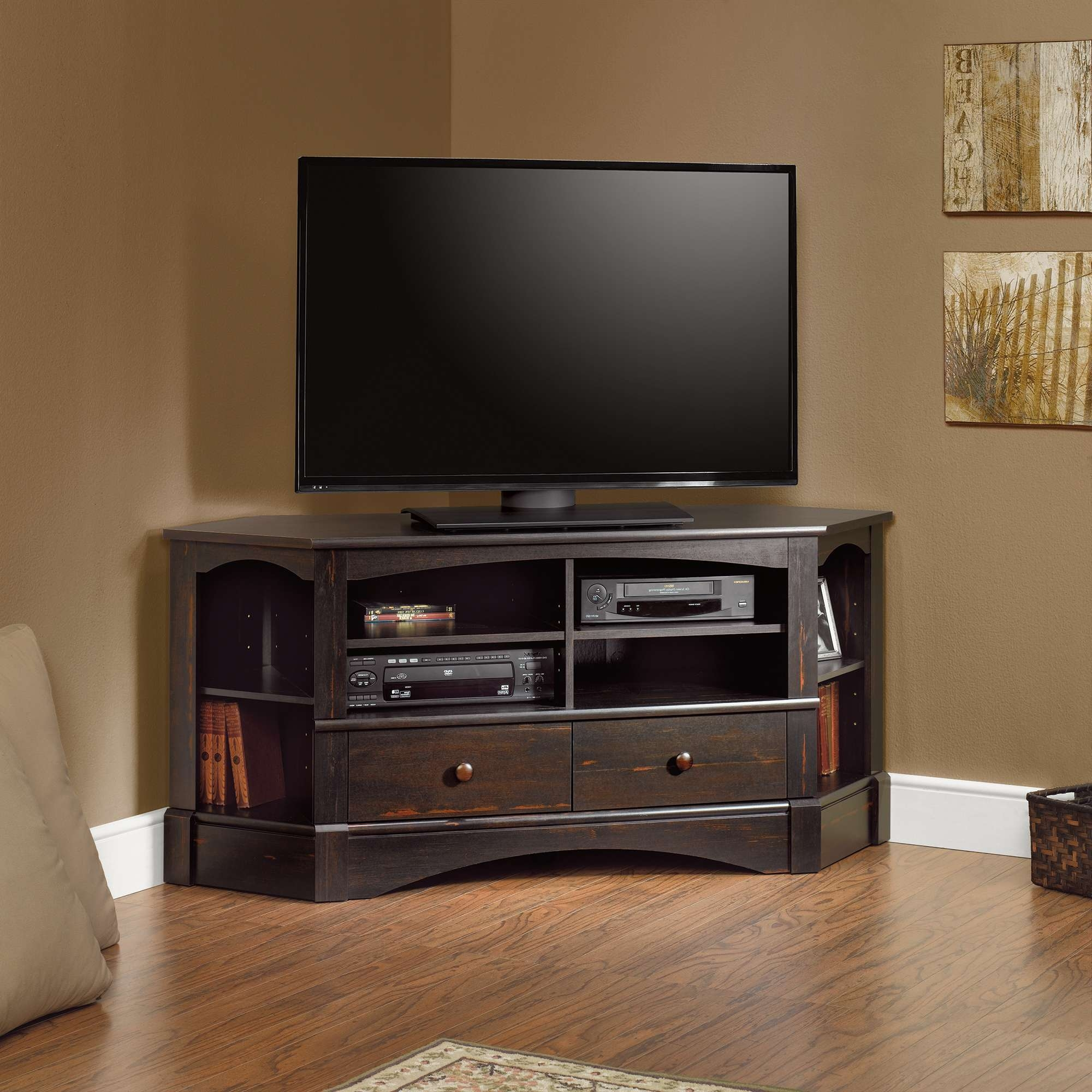 Best 20 Of Oak Tv Cabinets For Flat Screens