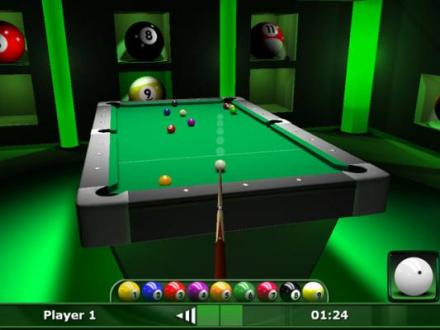 9 Ball Pool DDD Play 8 ball and 9 ball pool against your friends or     Picture 1