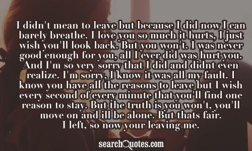 I Ll Never Fall Love Again Quotes