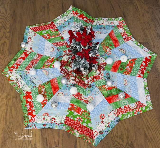 Quilted Christmas Tree Skirts Make