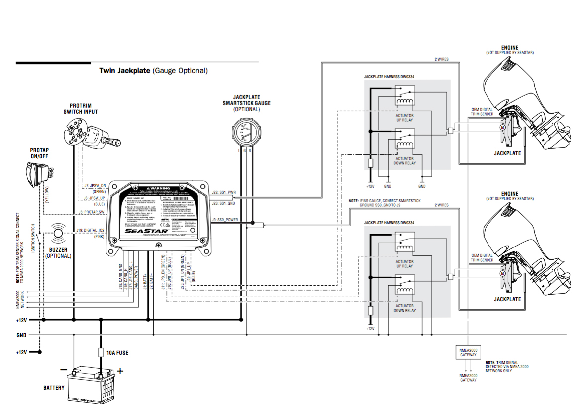 Mercury Trim Pump Motor Relay Wiring