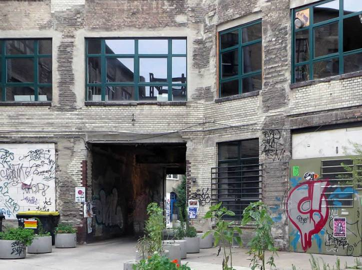 Alternative guide to Berlin  where to find the hip heart of Berlin s     Old courtyards in Berlin s Wedding district are home to a couple of the  city s best hip