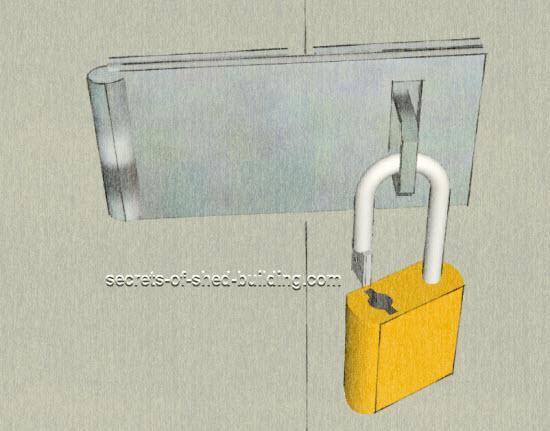 Shed Door Frame Building