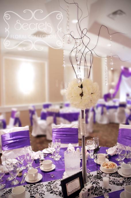Rose Centerpieces Wedding Tables
