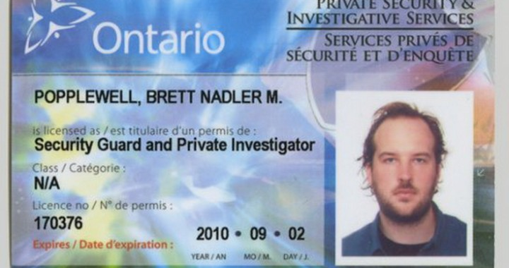 Security Guard License Online