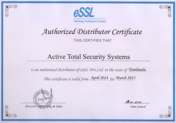 Security Alarm System Office