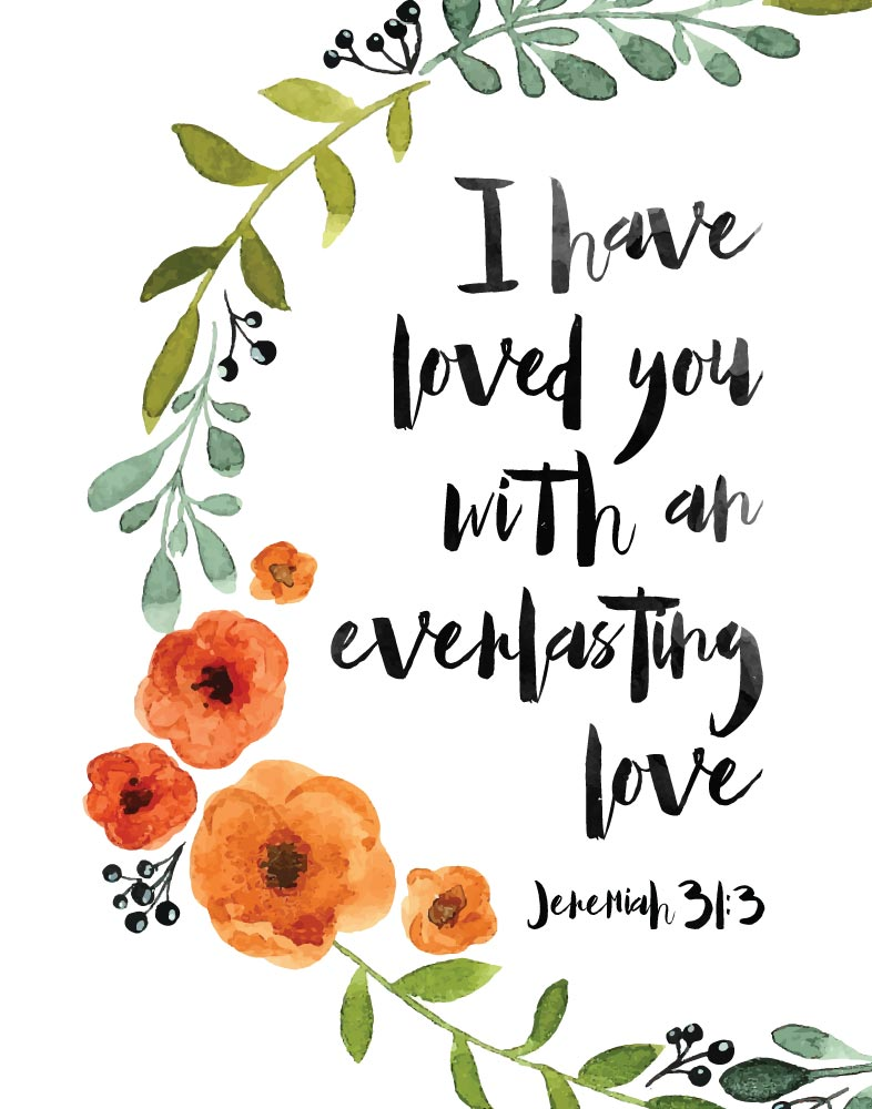 You Are Loved Bible Verse