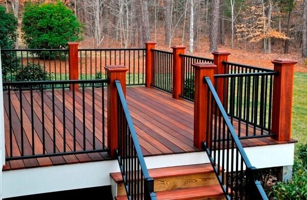 Raleigh Custom Handrails Stair Deck Handrail Construction | Outdoor Stair Railing Installers Near Me | Transitional Handrail | Cable Railing | Glass Railing | Porch Railing Kits | Vinyl Railing