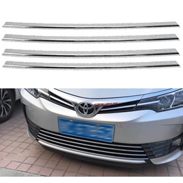Buy Chrome Trim   Accessories  Exterior Accessories   SehgalMotors PK Toyota Corolla facelift Lower Grille Chrome     Model  2017 2018 SehgalMotors Pk