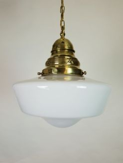 Antique Ceiling Lights   The UK s Largest Antiques Website Hodgson Antiques Ltd      FRENCH CUT GLASS PINEAPPLE CEILING LIGHT