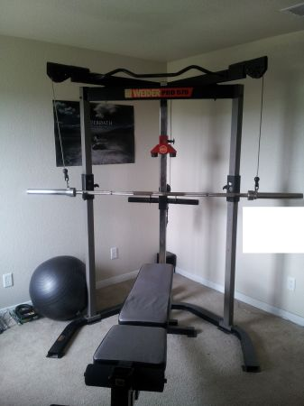 Self Spotting Weight Bench Espotted