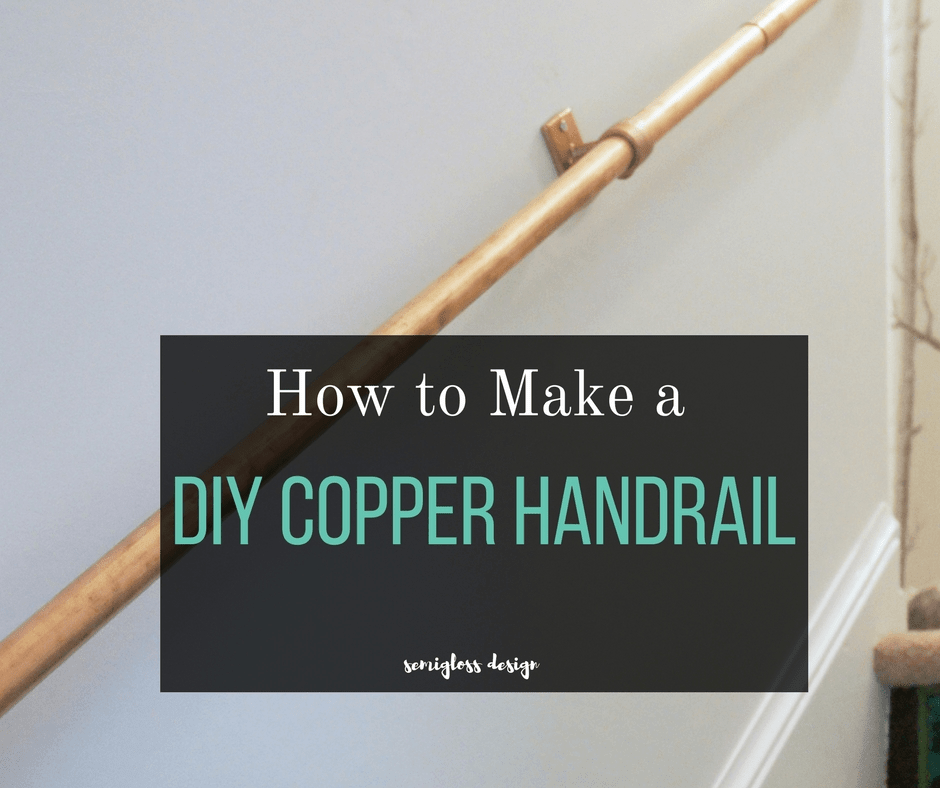 Super Easy Diy Stair Handrail Made From Copper Pipe Semigloss Design | Diy Modern Stair Railing | Wall Mount | Cable | Model Modern Staircase | Different Style | Contemporary