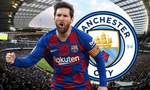 Lionel Messi Manchester City