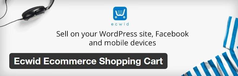 plugin wordpress untuk toko online - ecwid
