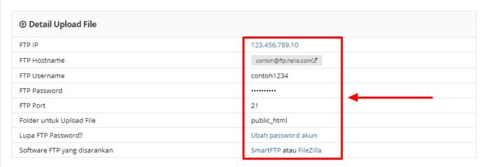 FTP login credentials hostinger - cara menginstall plugin wordpress
