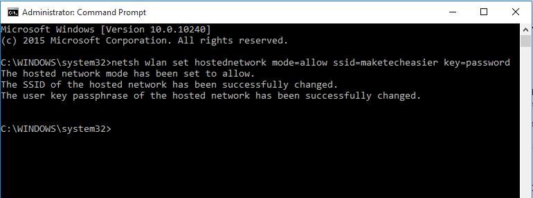 Menjadikan Laptop Sebagai WiFi Hotspot - 2