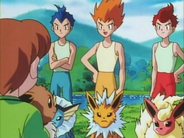 Tips dan Trik Bermain Pokemon Go lengkap - evolusi eevee berdasarkan nama pemilik