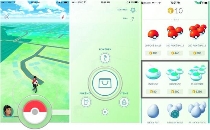 Trik menggunakan Incense dalam menangkap Pokemon Langka Pokemon Go