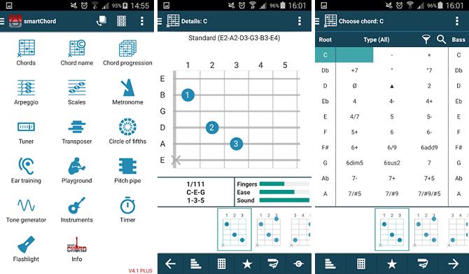 aplikasi belajar gitar terbaik - smartchord