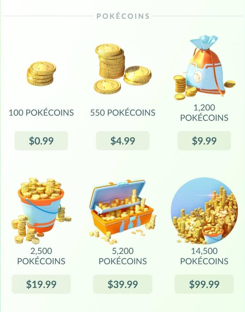 Cara Mendapatkan Poke Coins di Pokemon Go