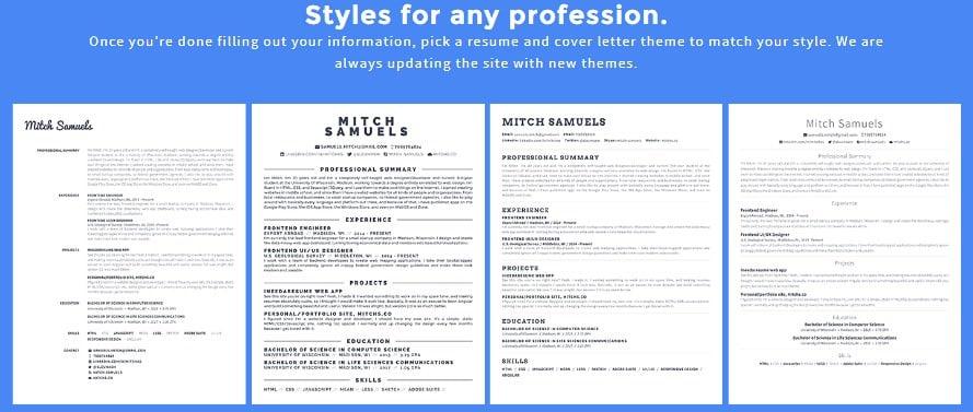 5 Situs Untuk Membuat Resume Atau Cv Gratis Seni Berpikir