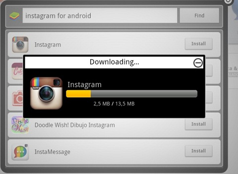 instalar instagram en pc