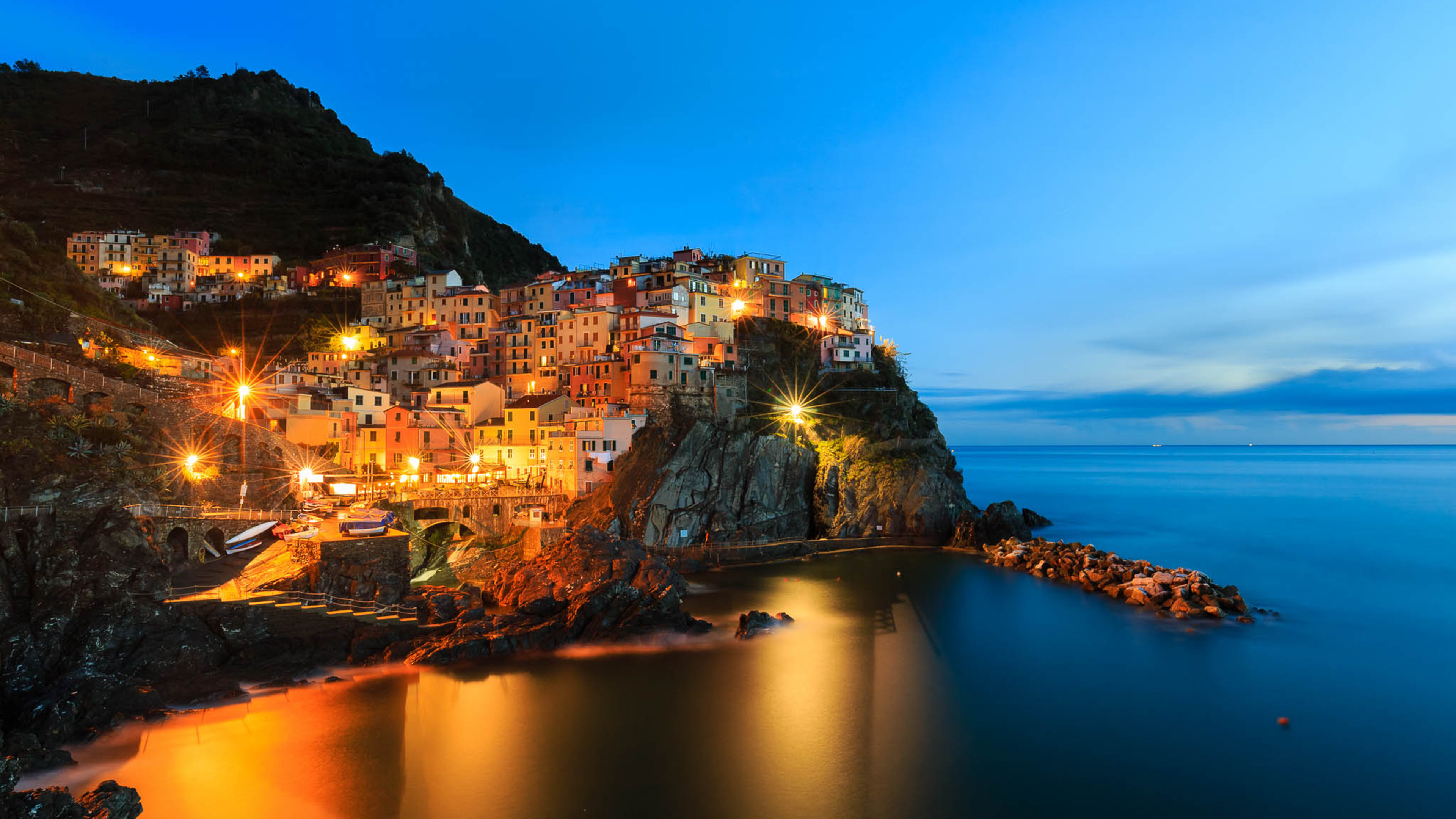 4K Wallpapers   Ultra HD Wallpapers Manarola Night 4K Wallpaper 3840x2160 340x220