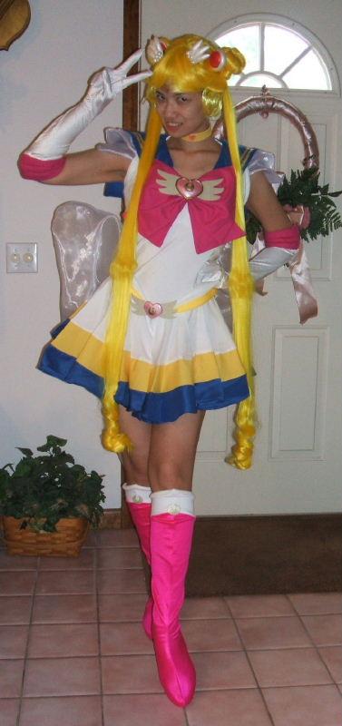 Super Sailor Moon Costume Cosplay