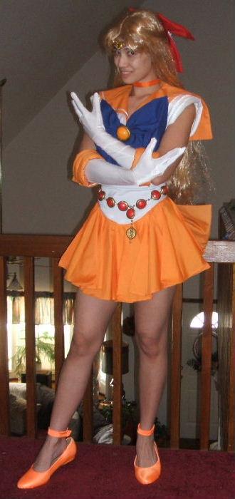 Pgsm Sailor Venus Costume