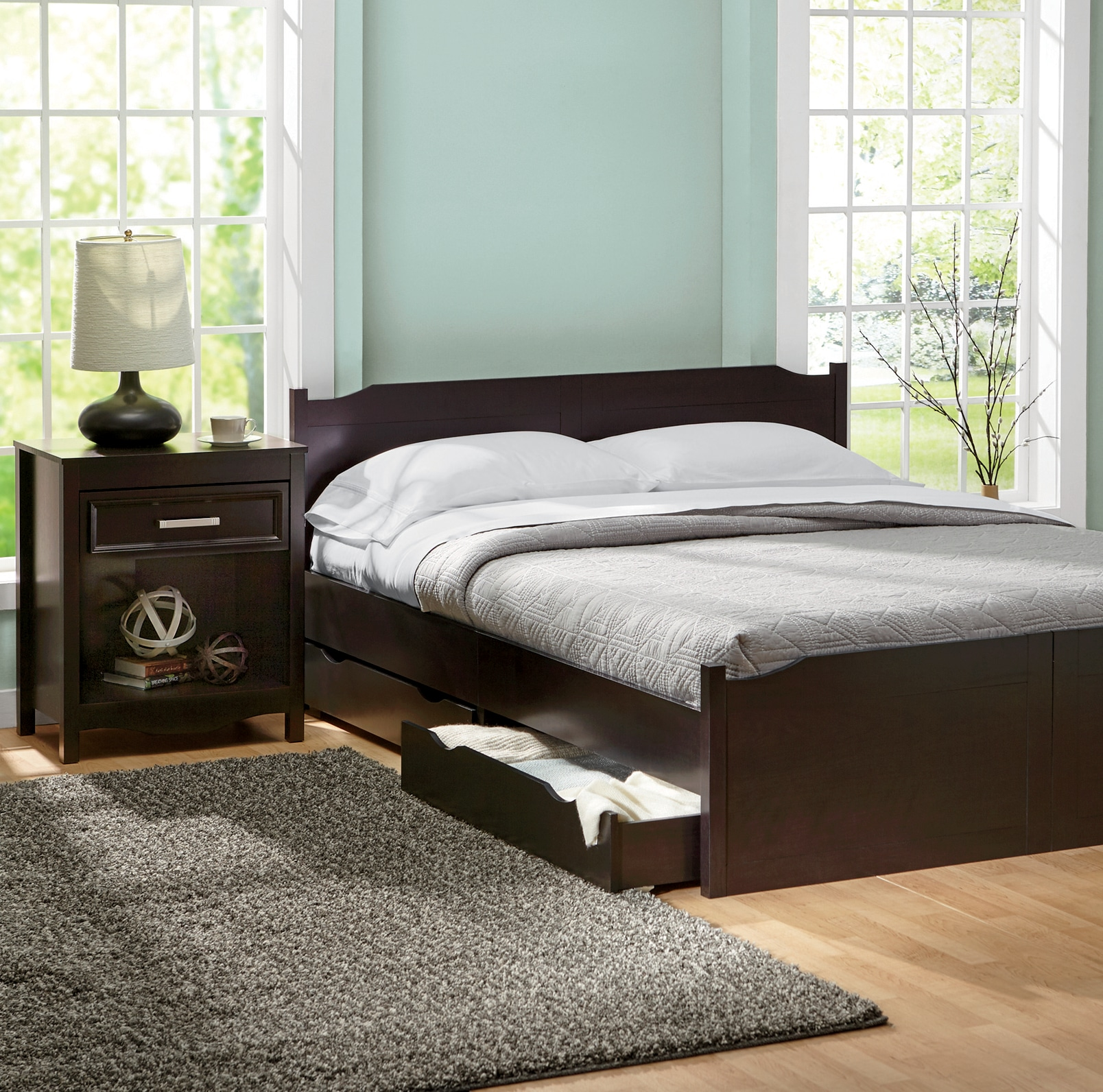 Beds  Headboards   Frames   Folding and Storage Beds   Seventh Avenue Candice Bedroom Furniture Collection