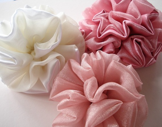 Fabric Flowers E pattern
