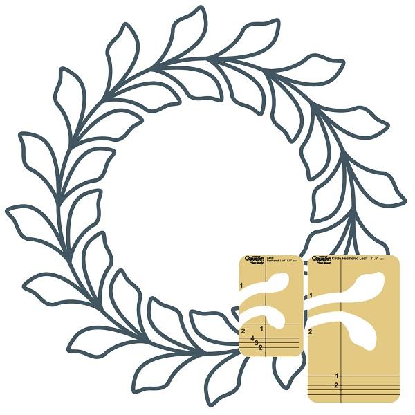 wreath template # 28