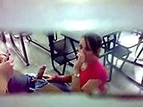 Real Teacher Caught On Tape While Student Is Giving Him A Blowjob
