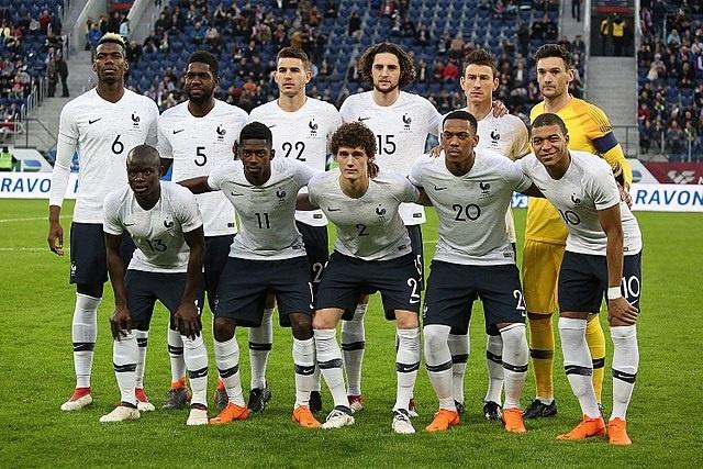 Francais 2016 Soccer Players