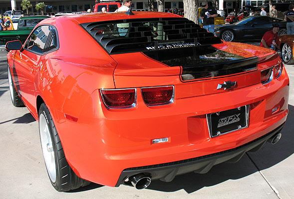 Rear Window Louvers Camaro Ss