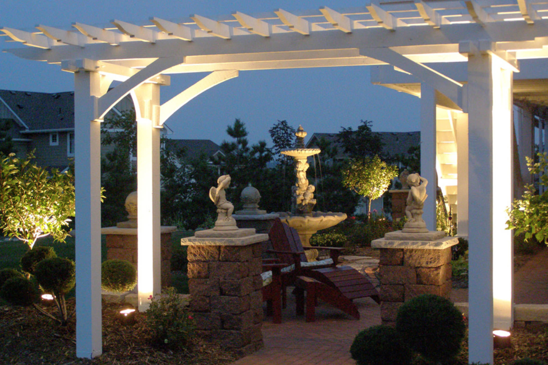 Wiring Outdoor Lights String Patio