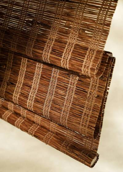 (NH) Natural Grass & Wood Shades | BAYSIDE BLIND & SHADE ...