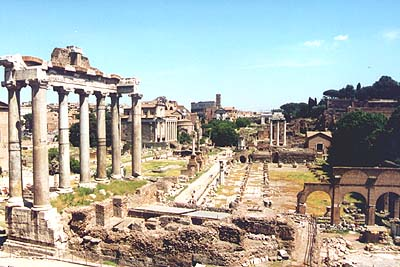 Art History by Laurence Shafe, Forum Romanum