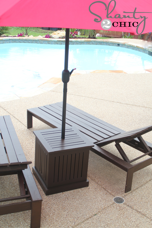 Outdoor Table Umbrella Hole