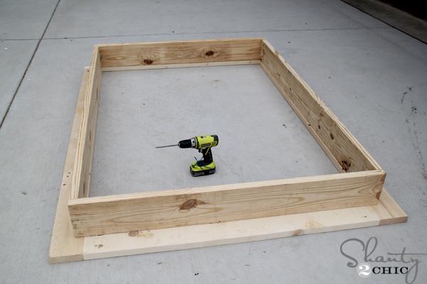 Twin Platform Bed Frame Storage