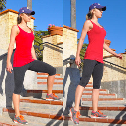 The Total-Body Fat-Burning Workout on the Stairs | Shape ...
