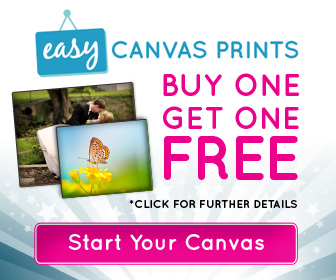 Easy Canvas Prints Buy One Get One FREE Sale + FREE ...