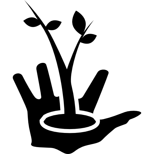 garden, care, Hand, symbol, plant, people, Plants ...