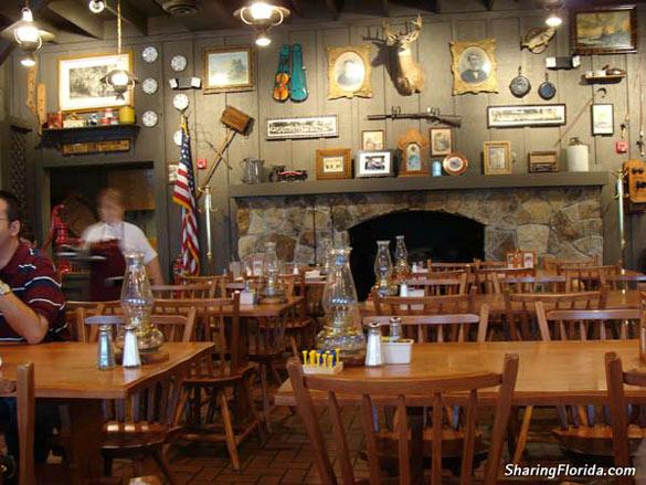 Cracker Barrel Restaurant List