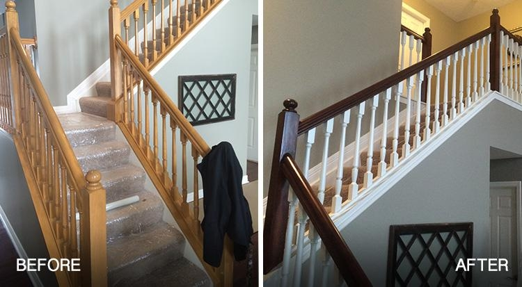 How Painting Banisters Handrails And Spindles Can Quickly Update   Wooden Banisters And Railings   Interior   Small   Horizontal   Creative Diy   Hand