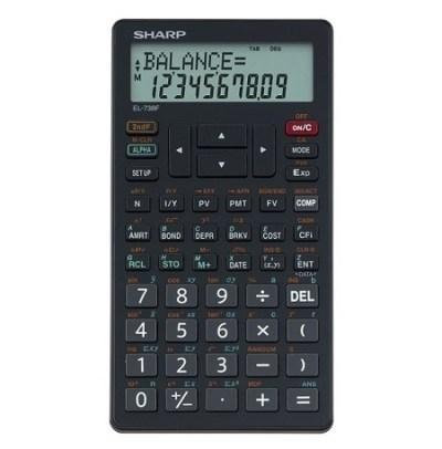 SHARP EL-738 Financial Calculator (Sharp EL738 ...