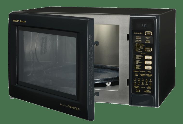 Sharp Carousel Microwave Sizes