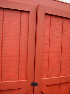 Warping Plywood Shed Doors