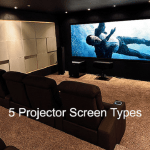 Projector Screen Types